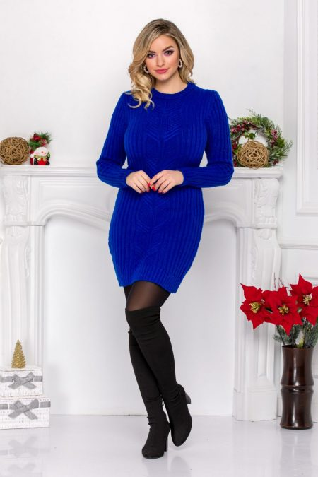Dalida Blue Dress