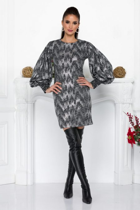 Lilly Silver Dress