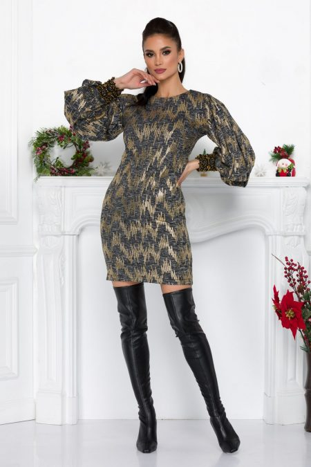Lilly Gold Dress