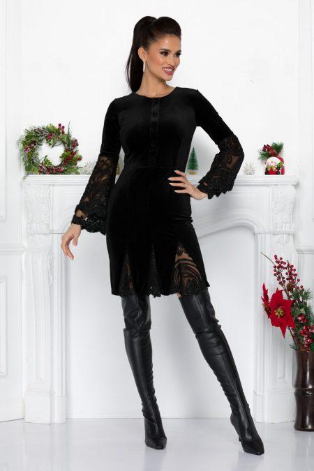 Ivonne Black Dress