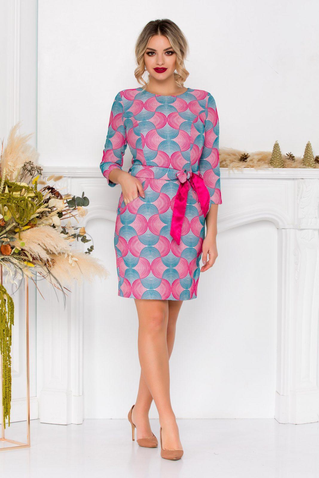 Φόρεμα Με Φιόγκο Emory 8947 2