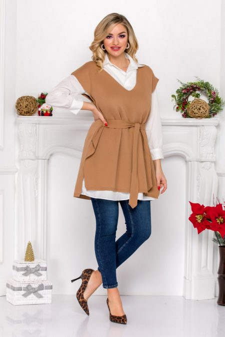 Brent Nude Blouse