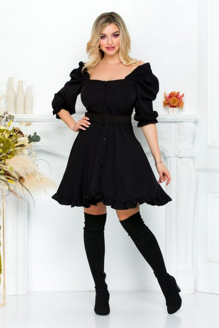 Zahra Black Dress