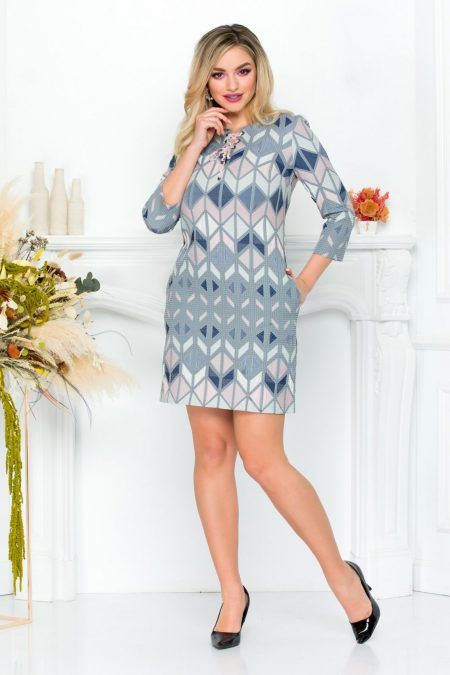 Nalany Gray Dress