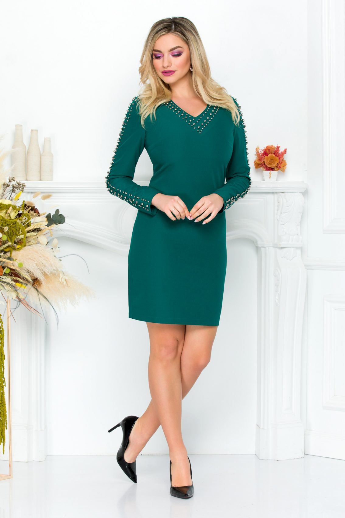 Sirrya Green Dress