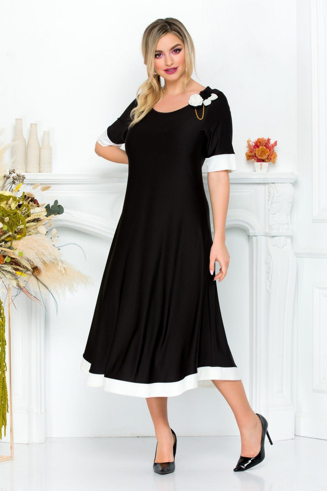 Μαύρο Φόρεμα Anaya 9297 2