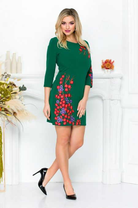 Janessa Green Dress