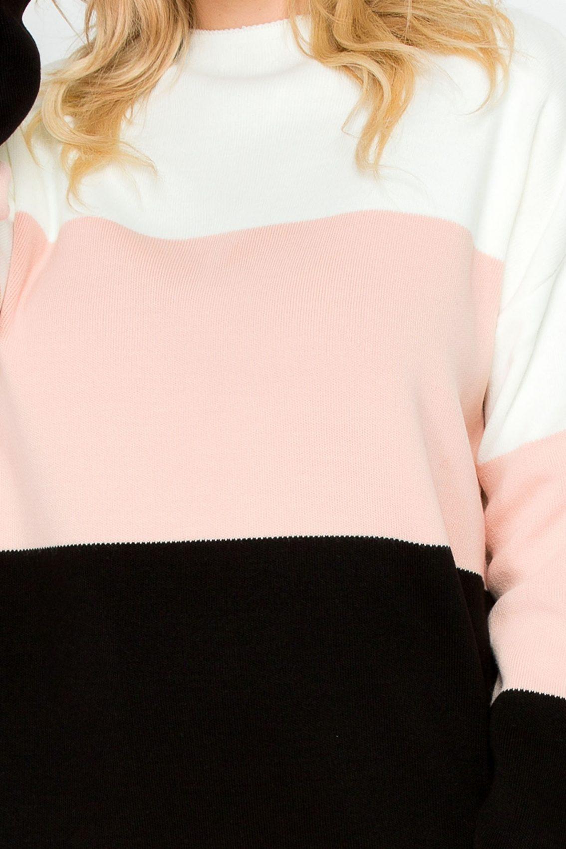Ροζ Πλεκτό Σετ Nolita 9258 2