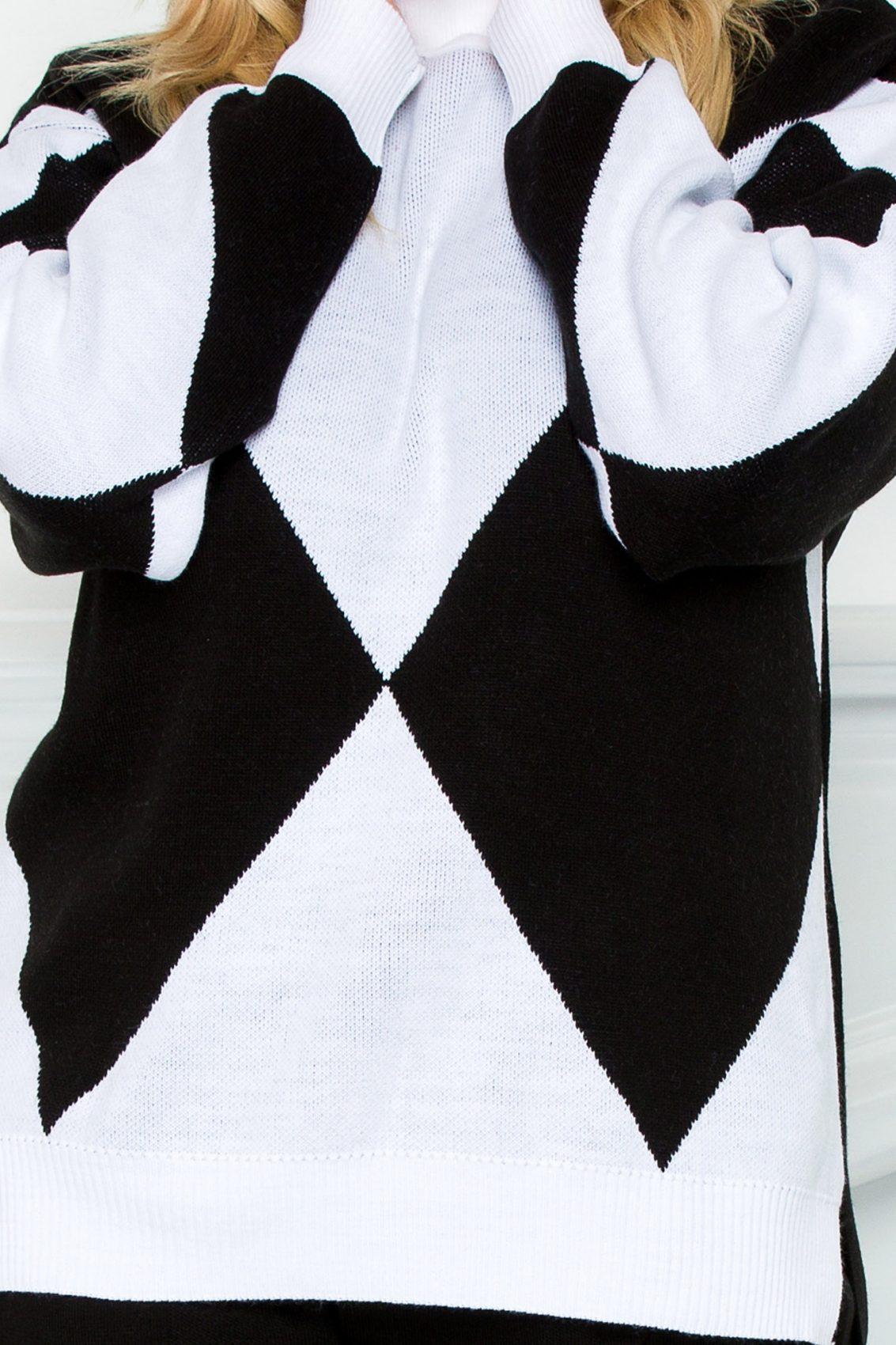 Μαύρο Πλεκτό Σετ Tes 9263 2