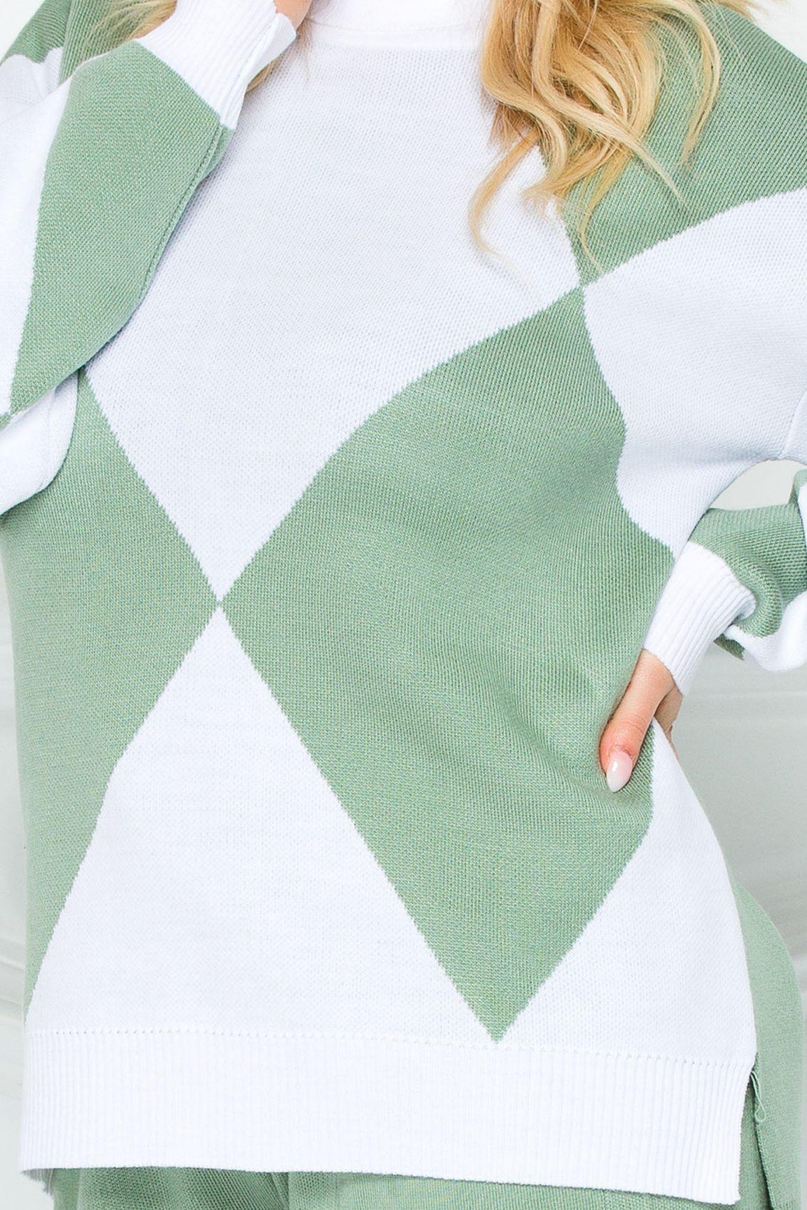Πράσινο Πλεκτό Σετ Tes 9262 2