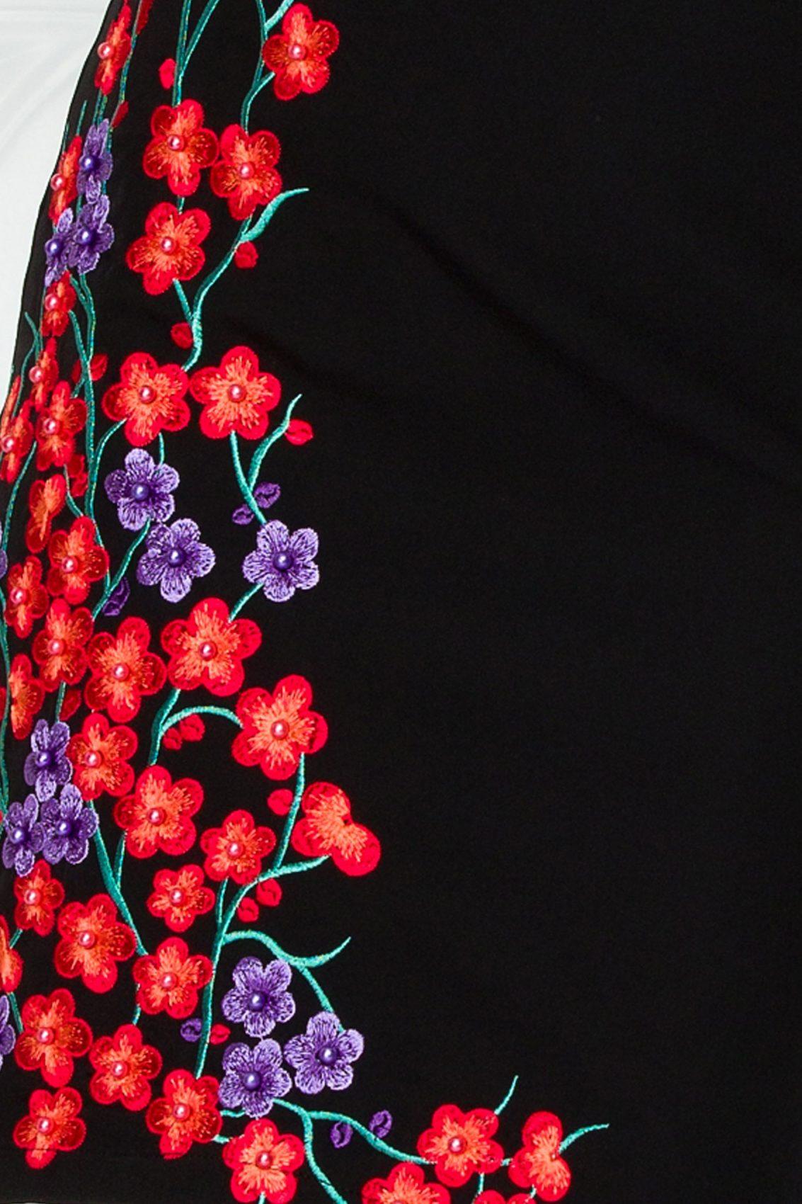 Μαύρο Φόρεμα Janessa 9211 3