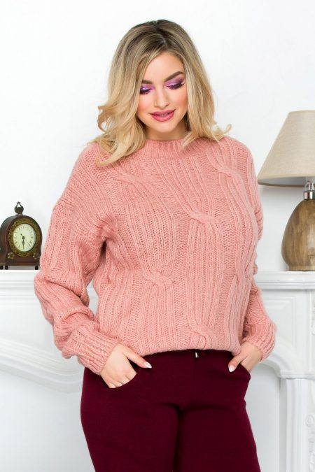 Kevo Rose Sweater