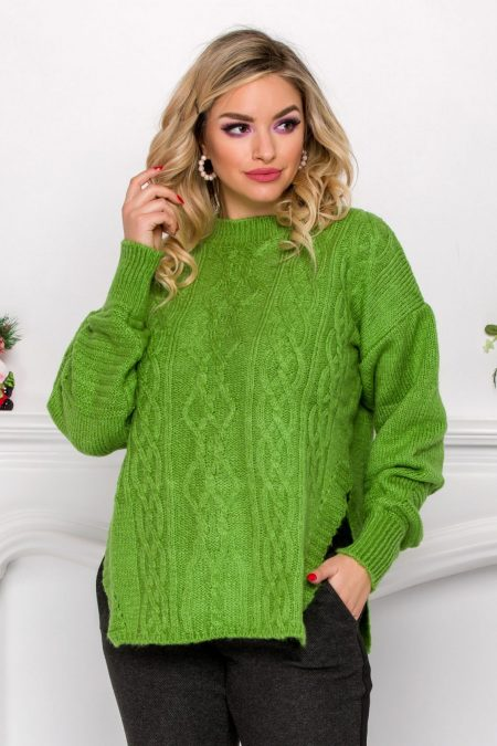 Kian Green Sweater