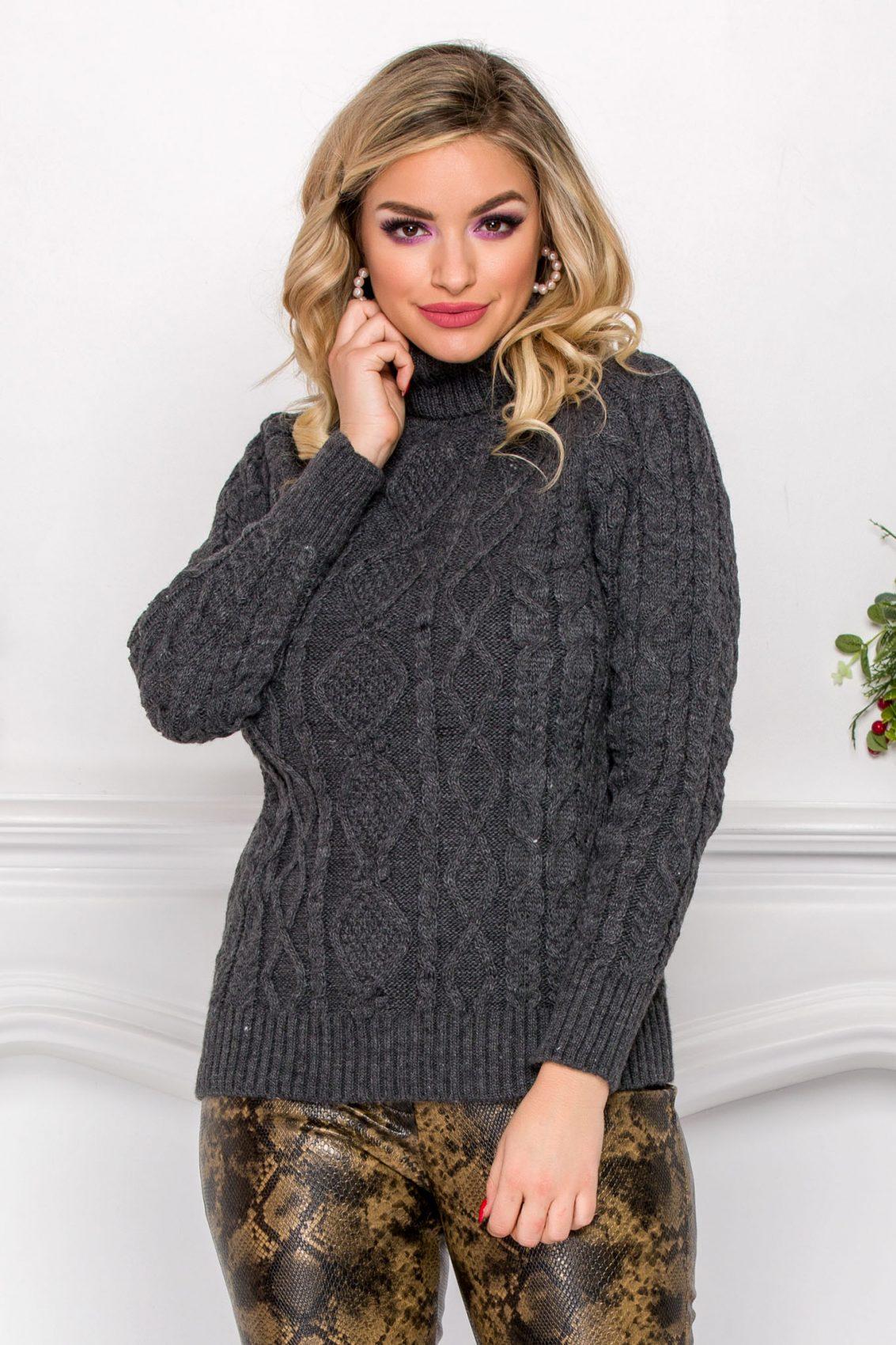 Lino Gray Sweater