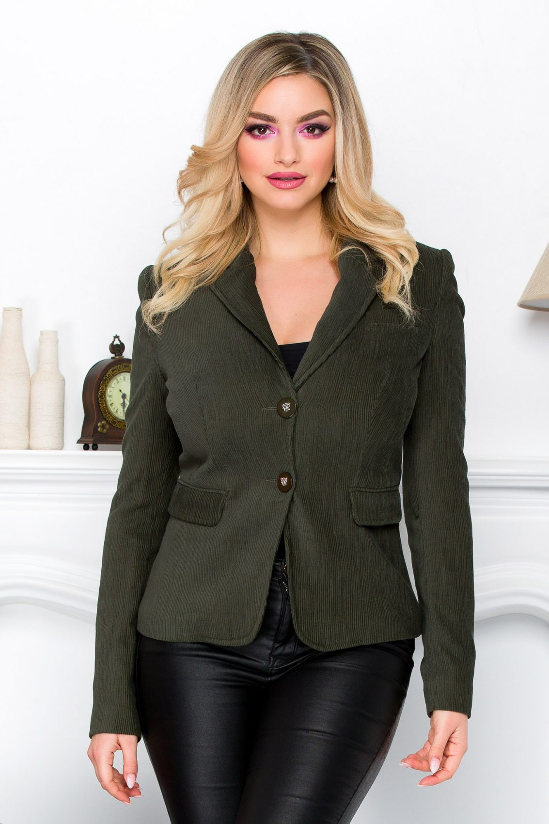 Ares Dark Green Jacket