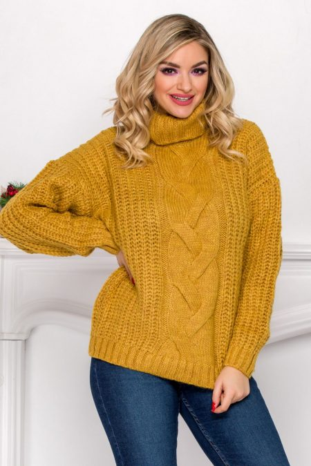 Maxx Dark Yellow Sweater