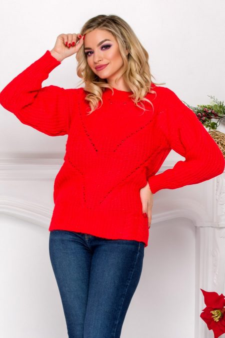 Eniko Coral Sweater