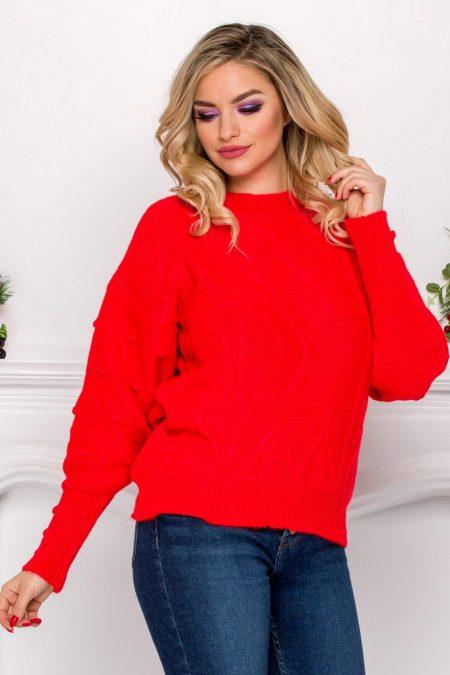 Thomas Coral Sweater