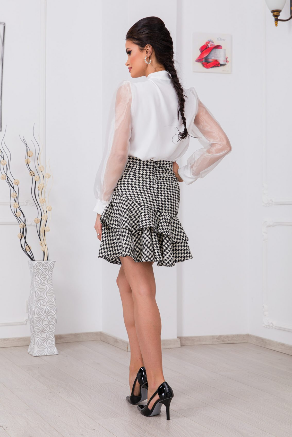 Λευκή Μπλούζα Alya 9784 2