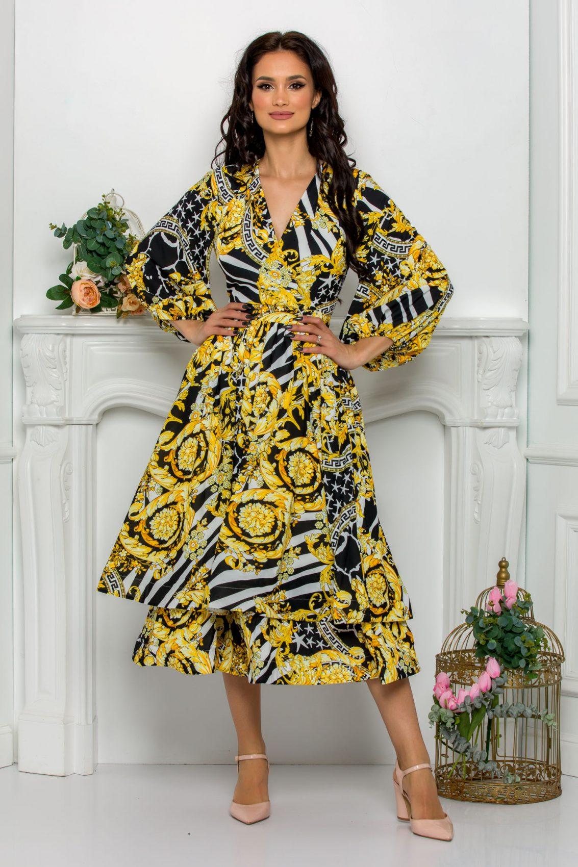 Midi Κρουαζέ Κλος Φόρεμα Jayla 8115 1