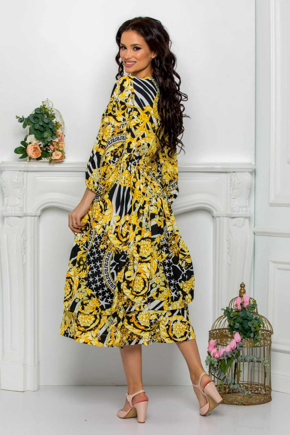 Midi Κρουαζέ Κλος Φόρεμα Jayla 8115 2