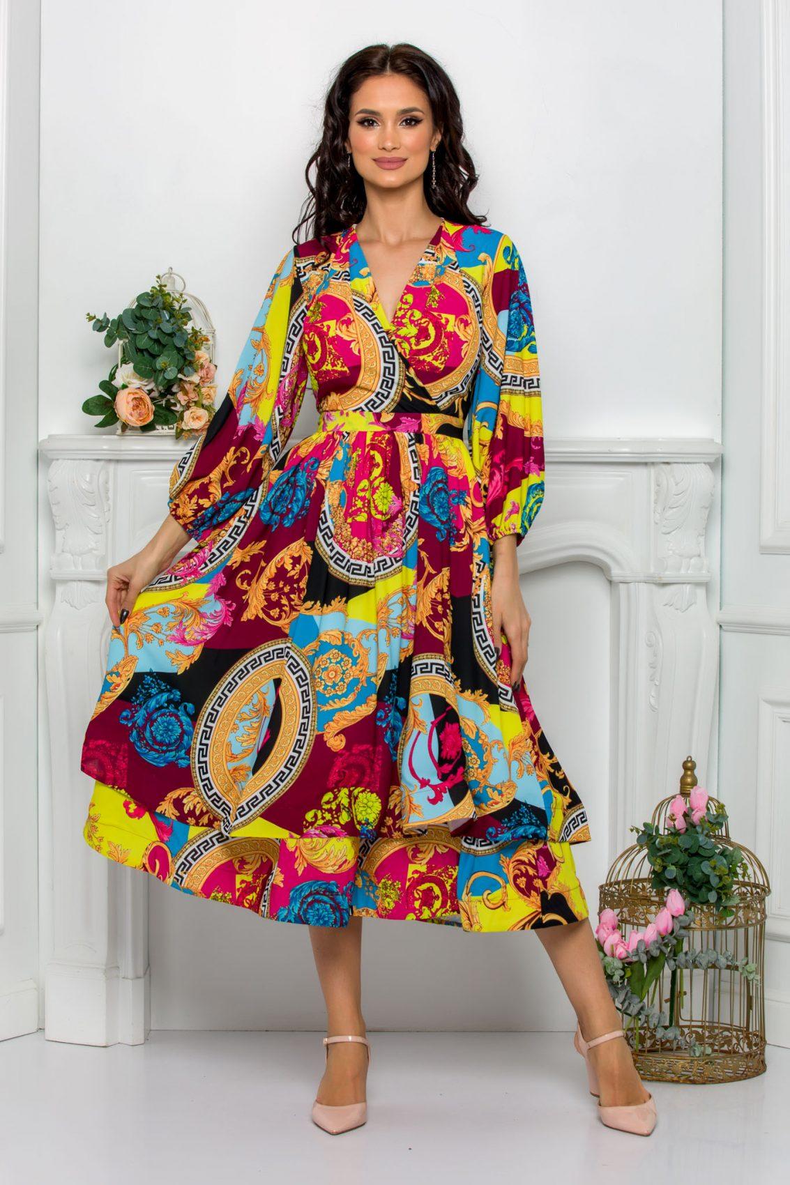 Κρουαζέ Midi Κλος Φόρεμα Jayla 8113 2