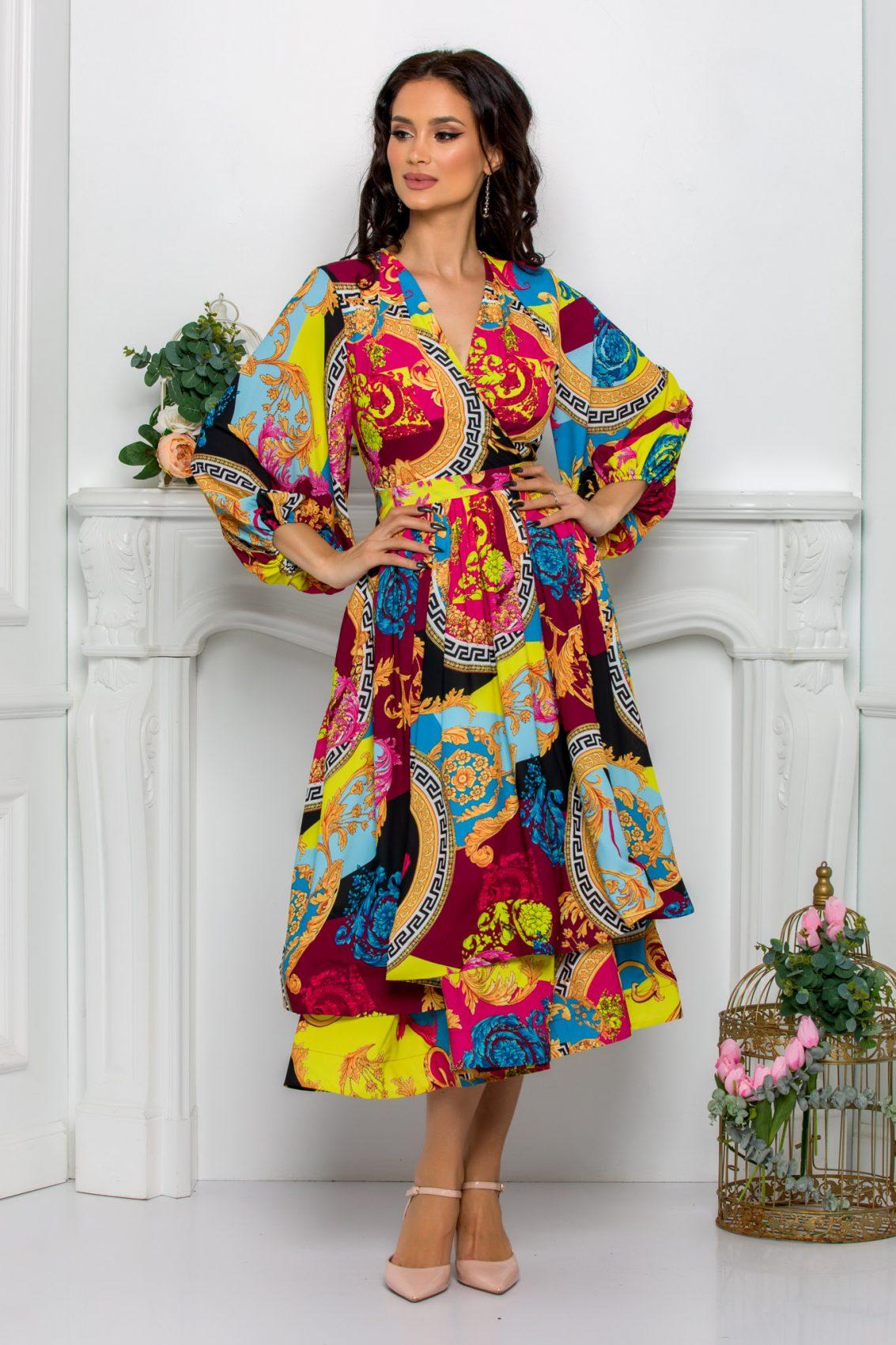 Κρουαζέ Midi Κλος Φόρεμα Jayla 8113 1