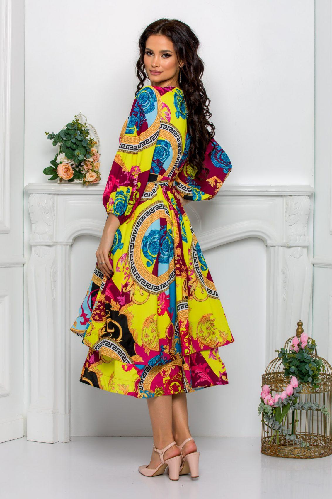 Κρουαζέ Midi Κλος Φόρεμα Jayla 8113 3