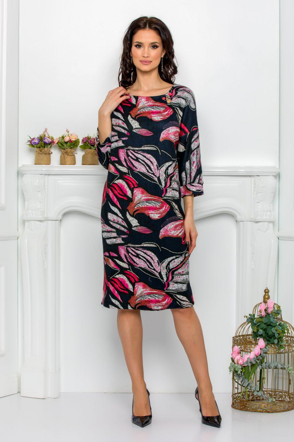 Πλεκτό Φόρεμα Plus Size Lili 9622 1