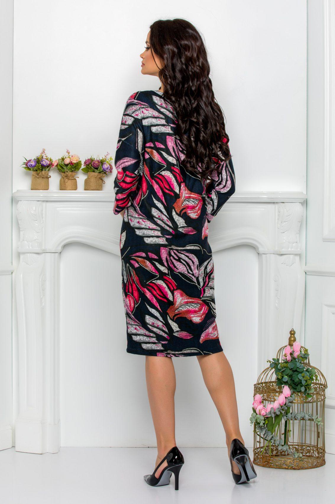 Πλεκτό Φόρεμα Plus Size Lili 9622 2
