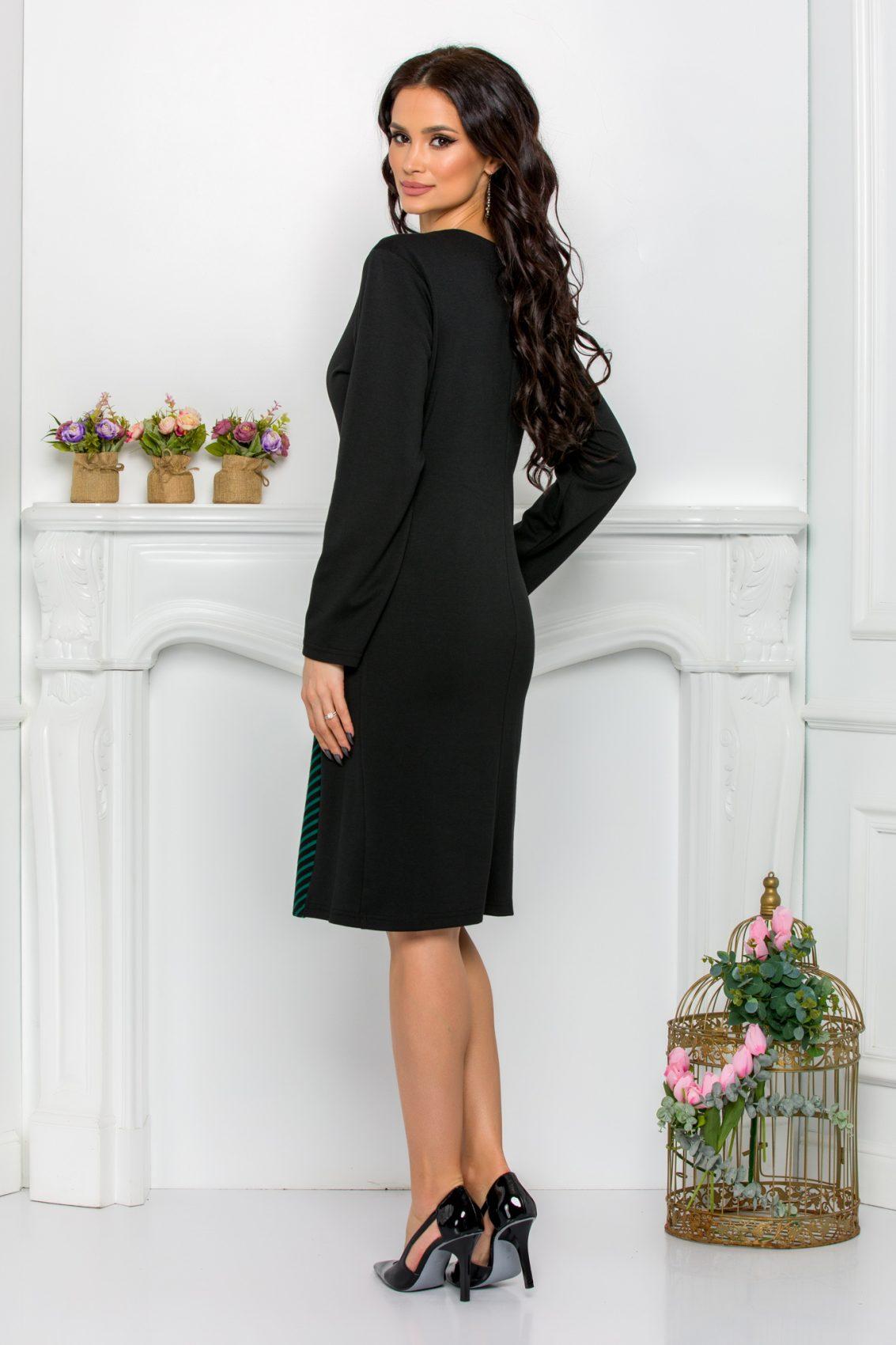 Μαύρο Φόρεμα Pauline 9557 2