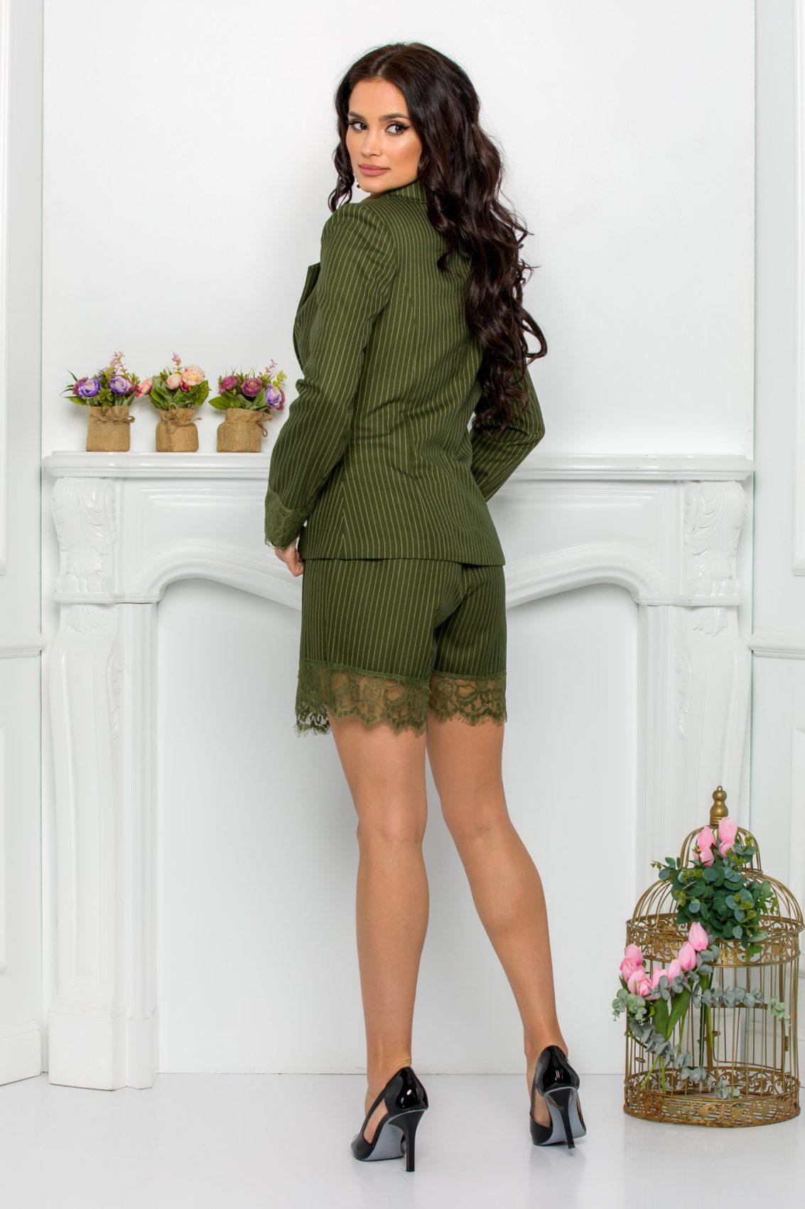 Πράσινο Σετ Σακάκι Με Σορτς Betsy 9552 2