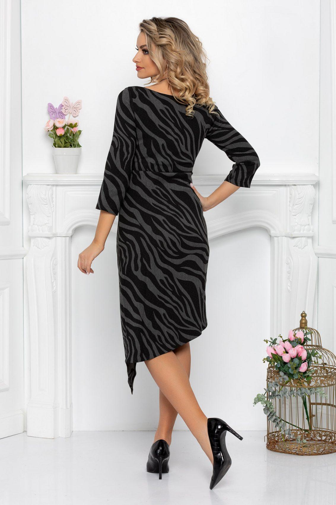 Μαύρο Φόρεμα Bridget 7153 2