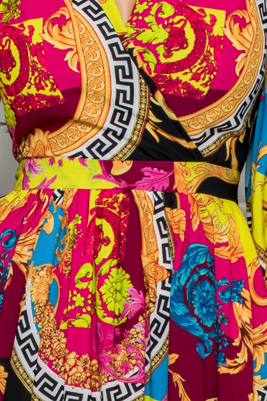 Κρουαζέ Midi Κλος Φόρεμα Jayla 8113 4