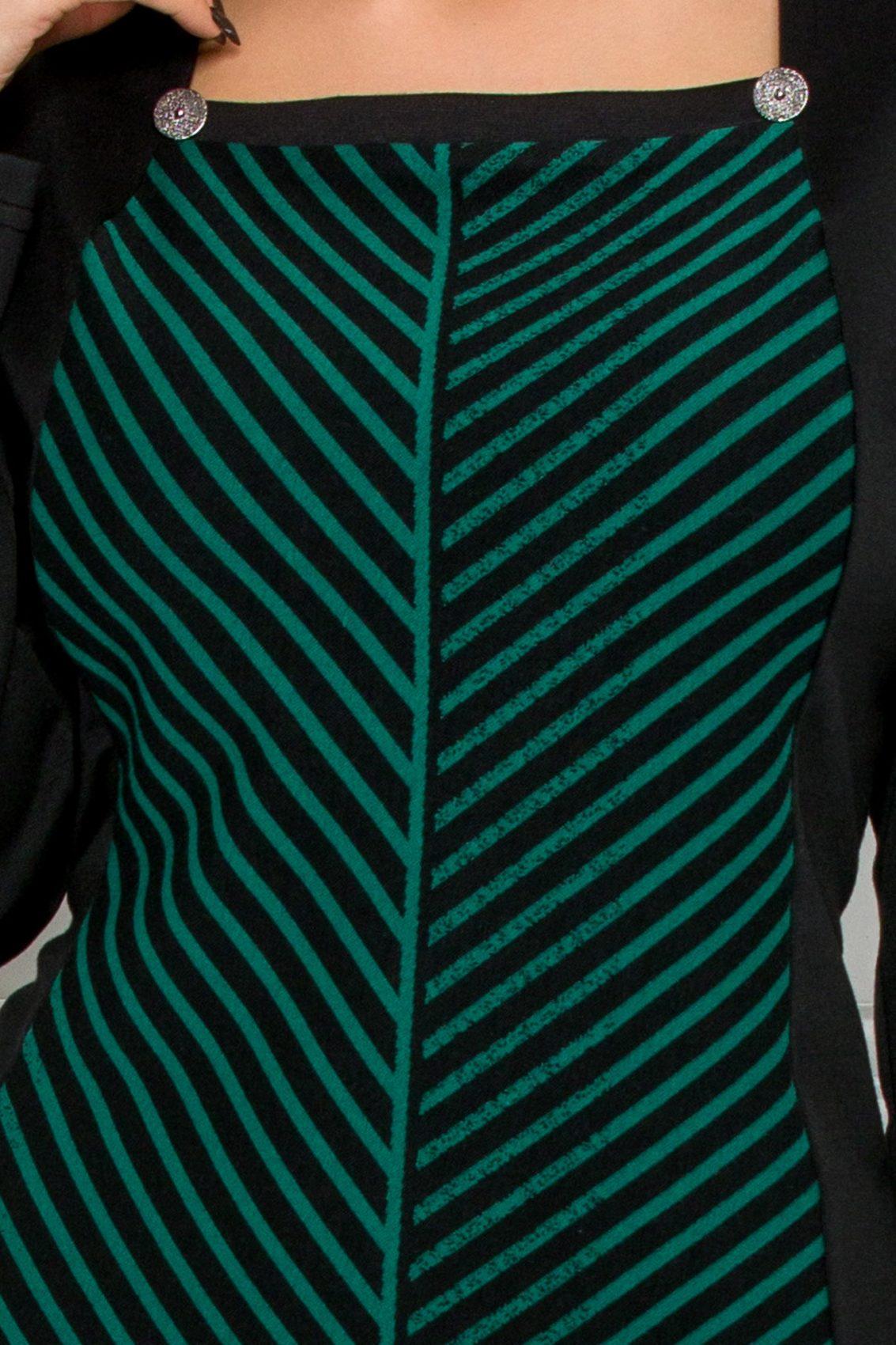Μαύρο Φόρεμα Pauline 9557 3