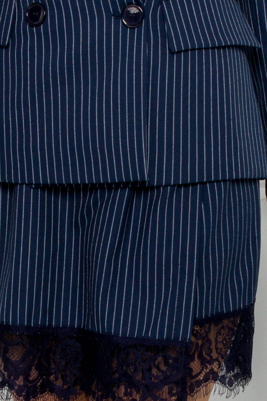 Μπλε Σετ Σακάκι Με Σορτς Betsy 9553 4