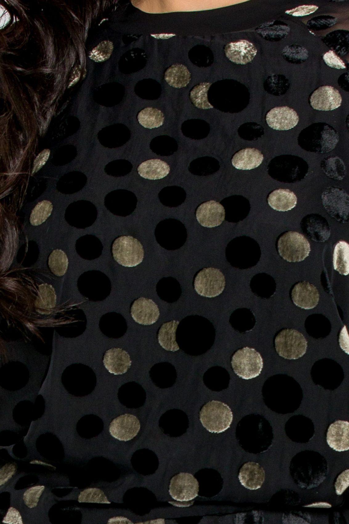 Μαύρη Μπλούζα Dora 9659 4