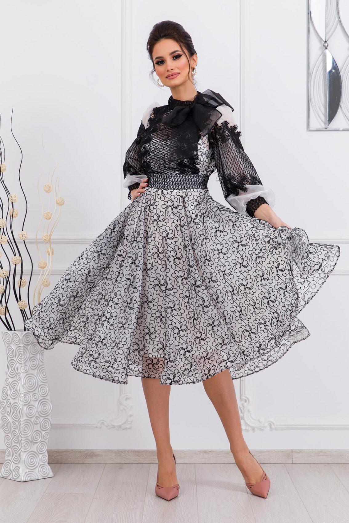 Βραδινό Φόρεμα Με Δαντέλα Radiant 9749 1