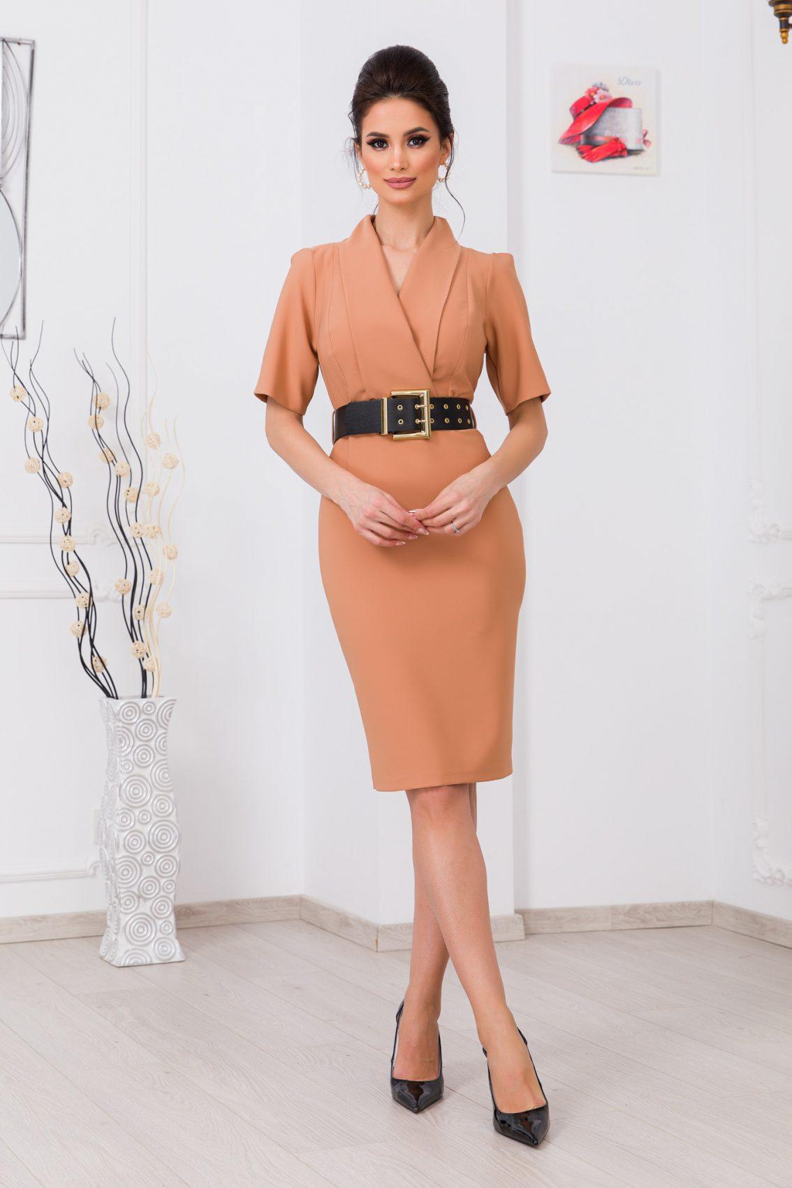 Ταμπά Φόρεμα Με Ζώνη Evitta 9710 1