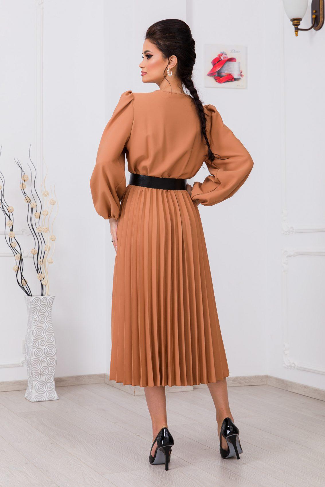 Ταμπά Μίντι Κρουαζέ Φόρεμα Janine 9736 2