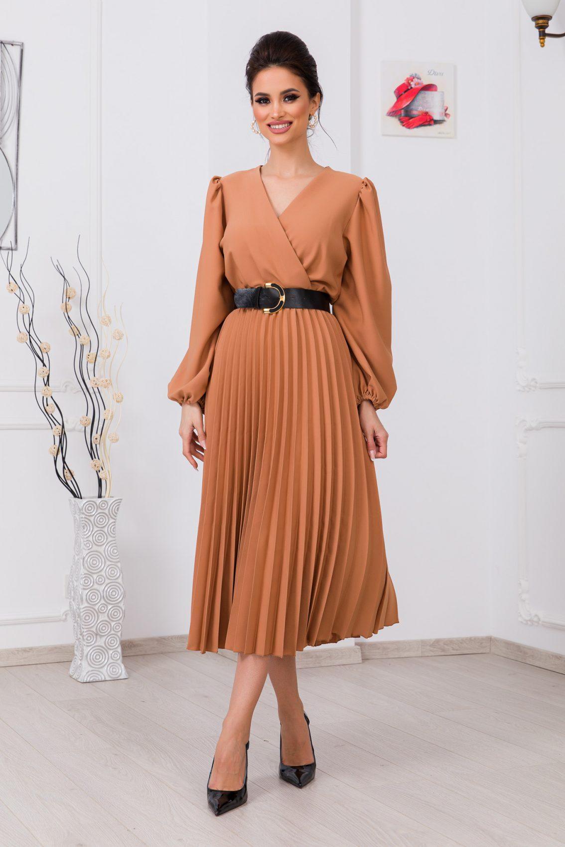 Ταμπά Μίντι Κρουαζέ Φόρεμα Janine 9736 1