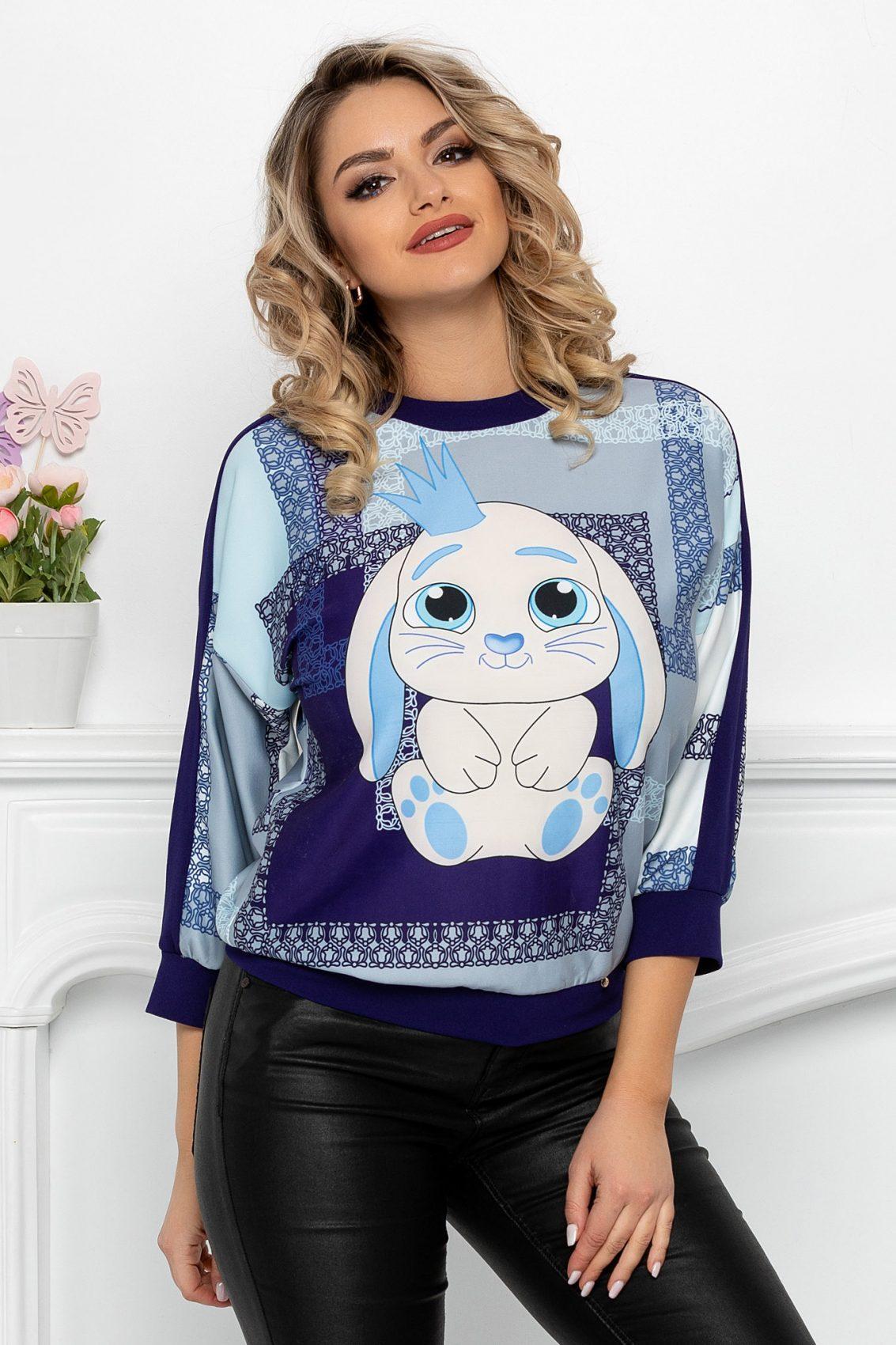 Βιολετί Μπλούζα Bunny 9464 1