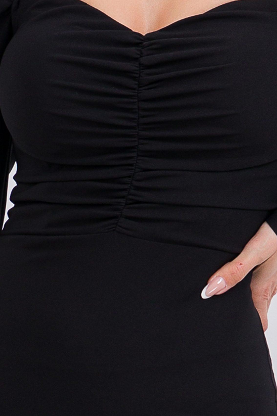 Μαύρο Μίνι Φόρεμα Morgan 9706 3