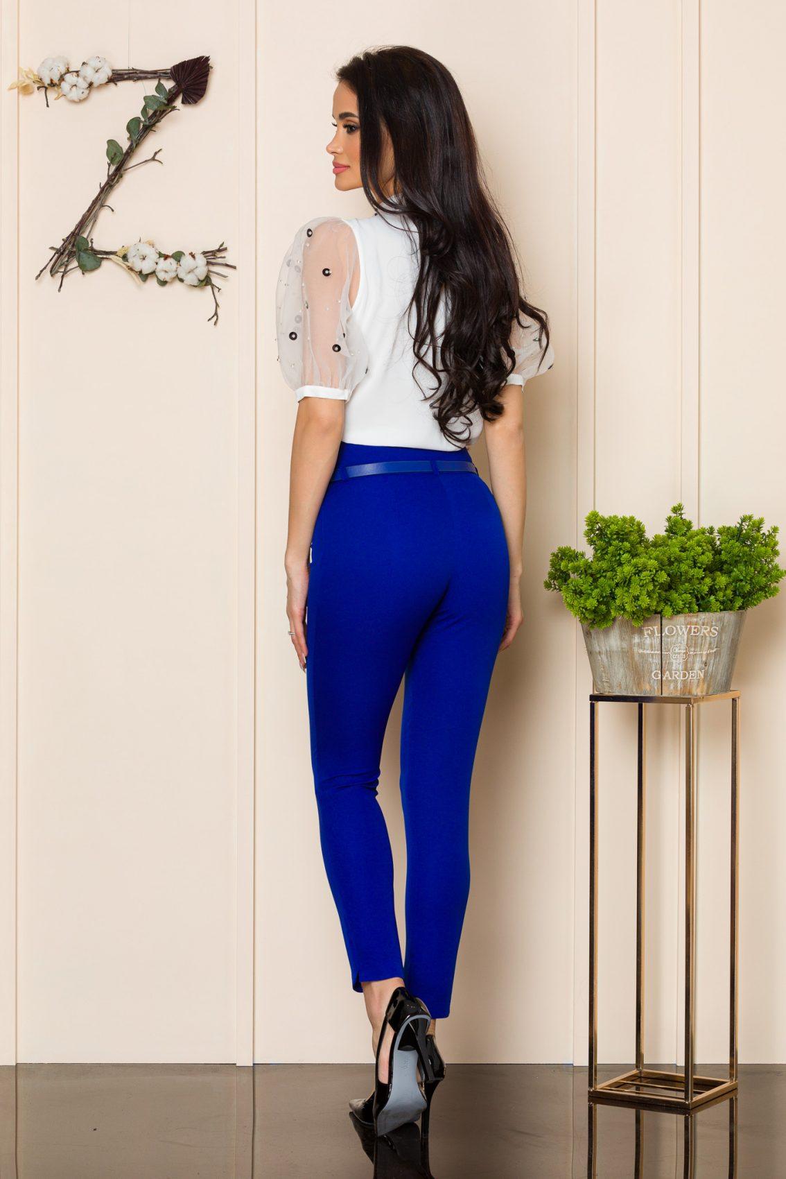 Μπλε Ρουά Παντελόνι Με Ζώνη Brasil 9914 2