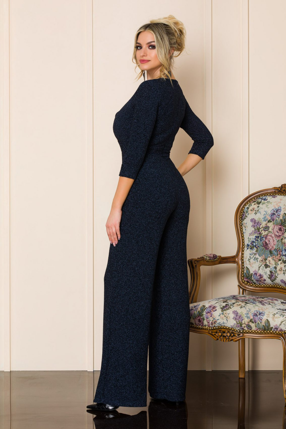 Μπλε Αμπιγιέ ολόσωμη Φόρμα Jovena A147 2