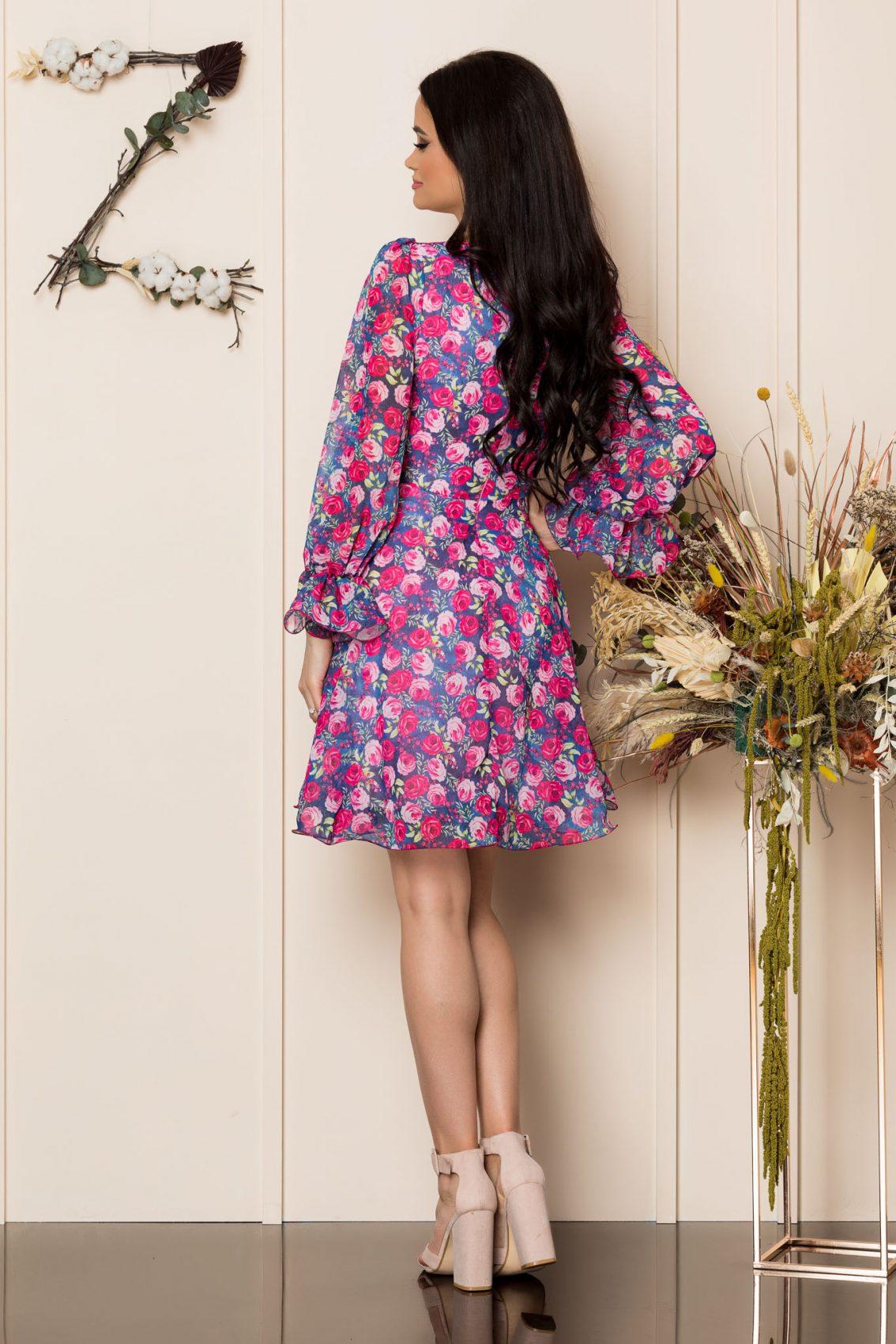 Κρουαζέ Φούξια Κλος Φόρεμα Simine A276 2