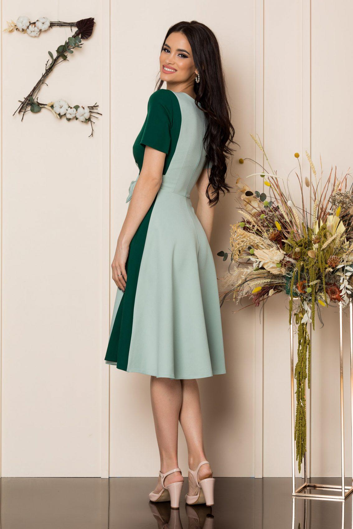 Μέντα Μίντι Κλος Φόρεμα Hazel A212 2