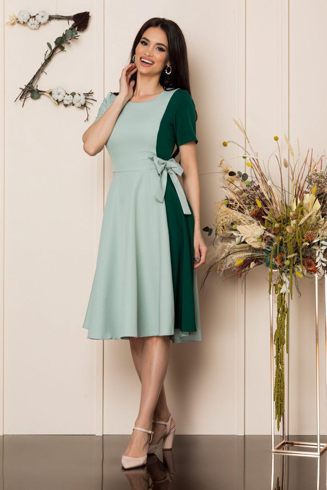 Μέντα Μίντι Κλος Φόρεμα Hazel A212 1