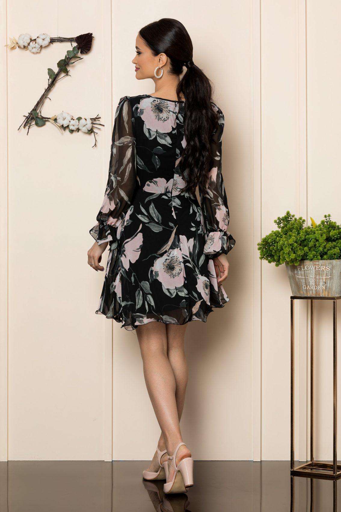 Φόρεμα Φλοράλ Κλος Simine 7808 2