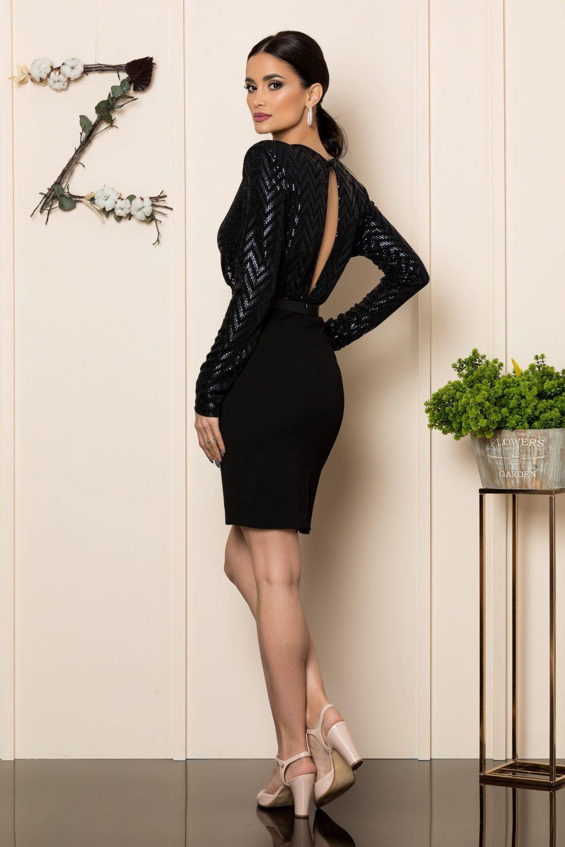 Μαύρο Φόρεμα Love 1089 2